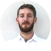 Staff member Kevin O'Brien at Ento