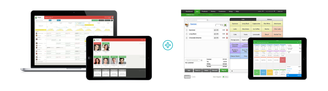 Vend features with Ento connection