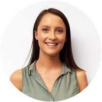 Staff member Jess Forster at Ento