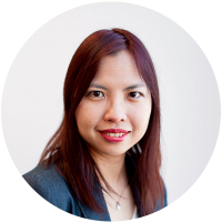Staff member Melanie Yeoh at Ento